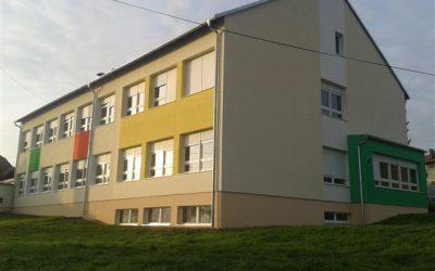 Izvođenje radova na fasadi OŠ Mihaljevec